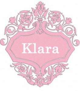 Vardas Klara