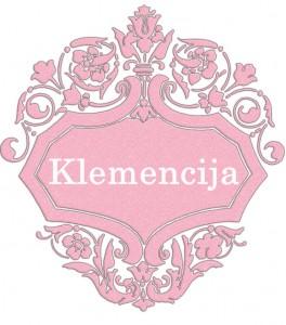 Klemencija