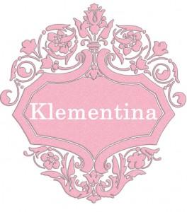 Vardas Klementina