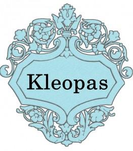 Vardas Kleopas