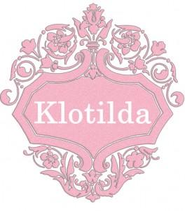 Vardas Klotilda