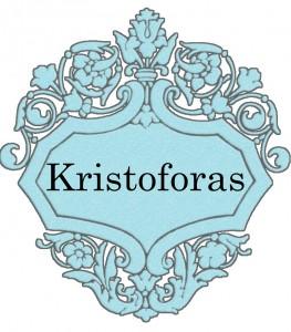 Vardas Kristoforas