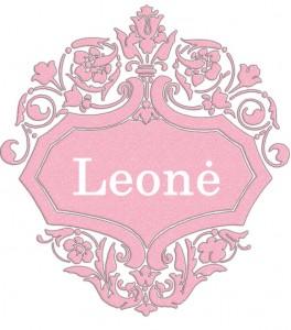 Vardas Leonė