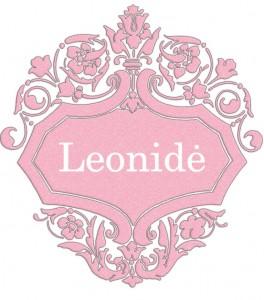 Vardas Leonidė