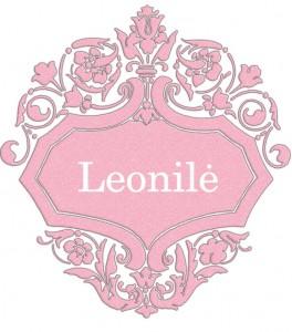 Vardas Leonilė