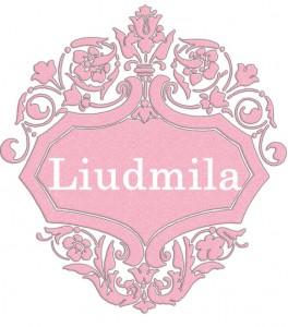 Vardas Liudmila