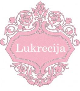 Vardas Lukrecija