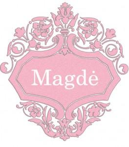 Vardas Magdė