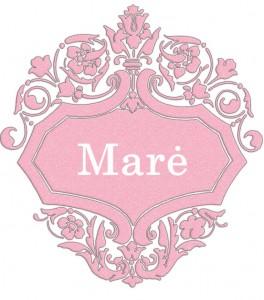 Vardas Marė