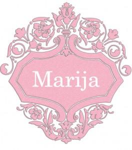 Vardas Marija