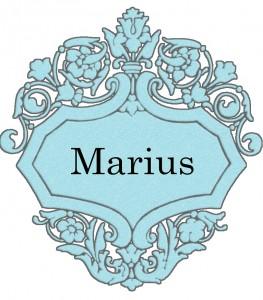 Vardas Marius