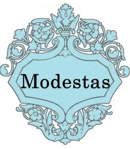 Vardas Modestas