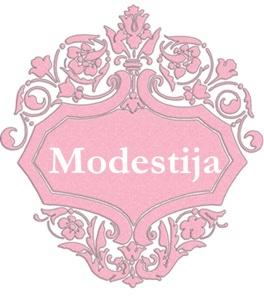 modestija