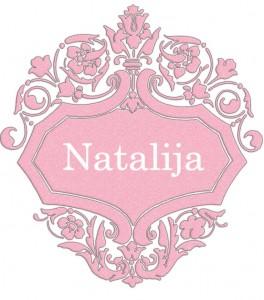 Vardas Natalija