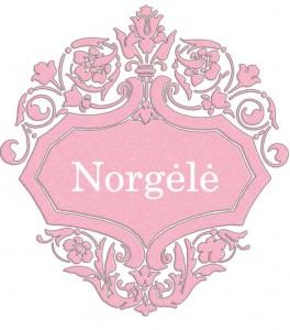Vardas Norgėlė