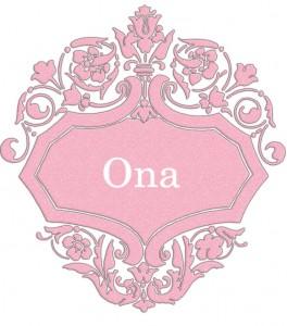 Vardas Ona