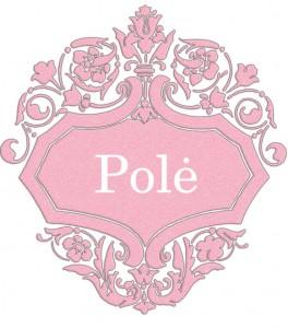 Vardas Polė