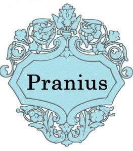 Vardas Pranius
