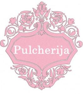 Vardas Pulcherija