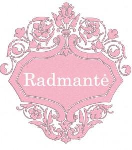 Vardas Radmantė