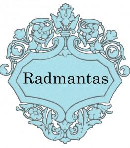 Vardas Radmantas