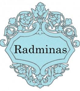 Vardas Radminas