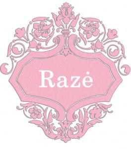 Vardas Razė
