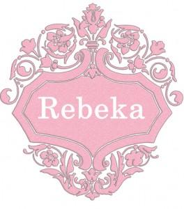 Vardas Rebeka