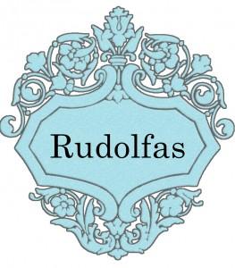 Vardas Rudolfas