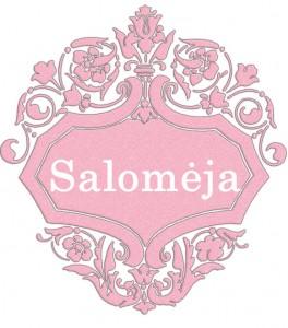 Vardas Salomėja