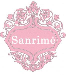 Sanrimė