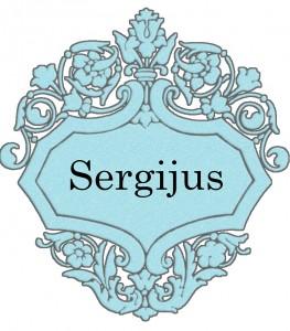 Vardas Sergijus