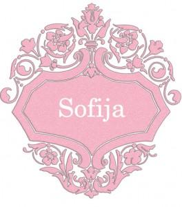 Vardas Sofija