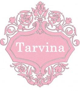 Vardas Tarvina