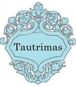 Vardas Tautrimas