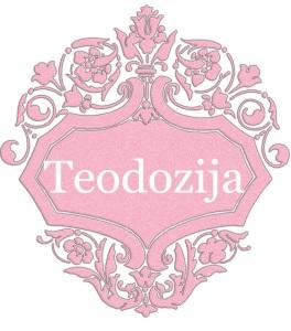 Teodozija