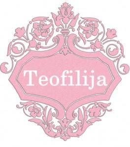 Teofilija