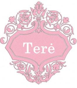 Vardas Terė