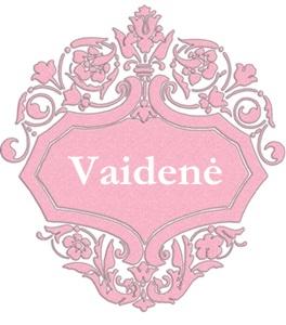 Vaidene