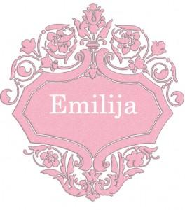 Vardas Emilija