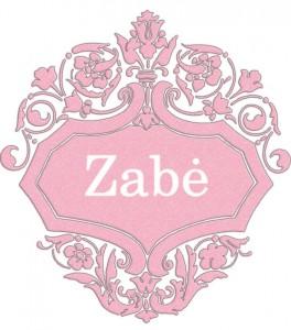 Vardas Zabė