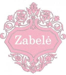 Vardas Zabelė