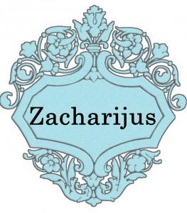 Vardas Zacharijus