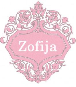 Vardas Zofija