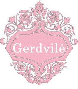 Vardas Gerdvilė