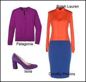 Kapsulė- Apelsinas ir violetinė spalva